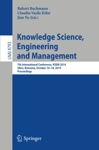 Knowledge Science, Engineering and Management: 7th International Conference, KSEM 2014, Sibiu, ...