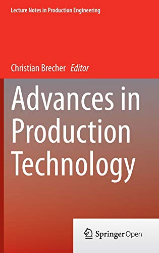 Advances in Production Technology: Christian Becher