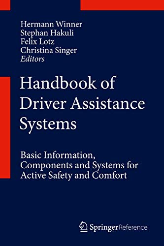 Handbook of Driver Assistance Systems (Hardcover)