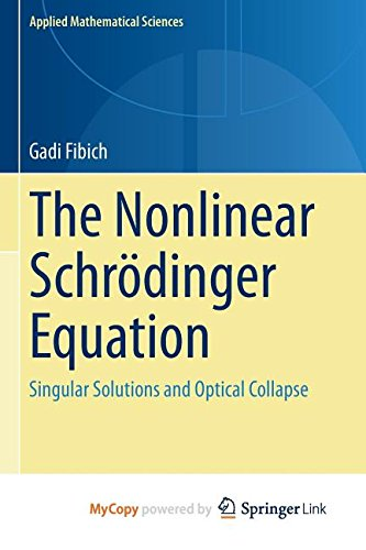 9783319127491: The Nonlinear Schrödinger Equation: Singular Solutions and Optical Collapse