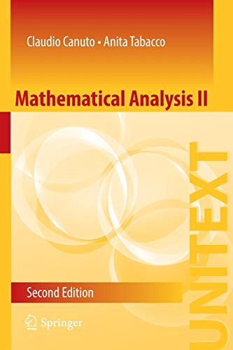 9783319127569: Mathematical Analysis II (UNITEXT)