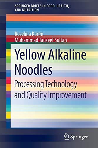 Yellow Alkaline Noodles: Muhammad Tauseef Sultan