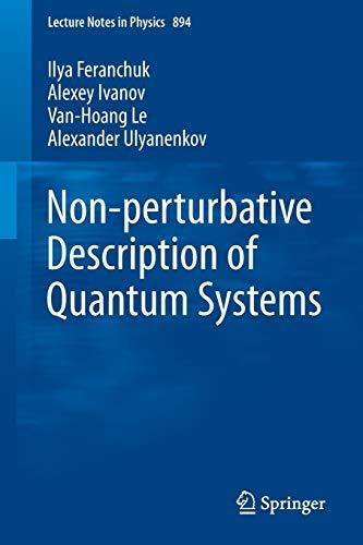 Nonperturbative Description of Quantum Systems: Ilya Feranchuk
