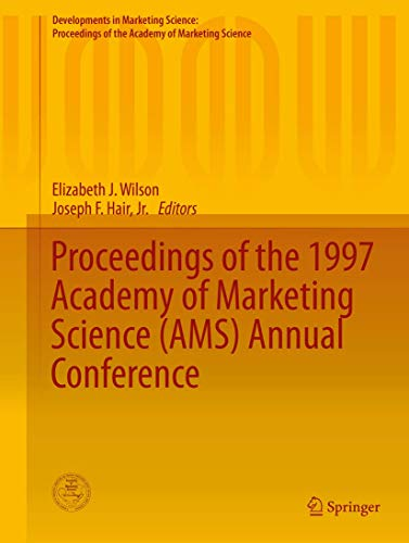 Proceedings of the 1997 Academy of Marketing Science (AMS) Annual Conference (Hardback)