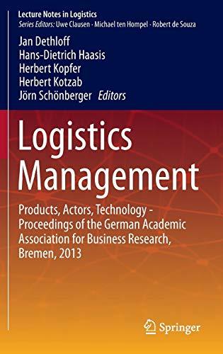 Logistics Management: Jan Dethloff