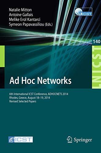 Ad Hoc Networks: Natalie Mitton