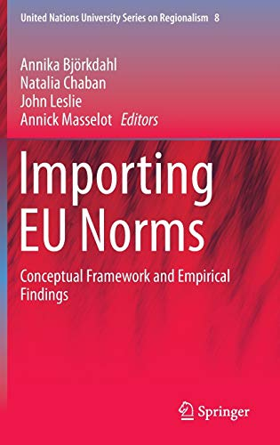 9783319137391: Importing EU Norms: Conceptual Framework and Empirical Findings (United Nations University Series on Regionalism)