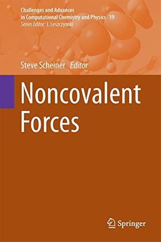 Noncovalent Forces: Steve Scheiner