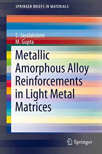 Metallic Amorphous Alloy Reinforcements in Light Metal: S. Jayalakshmi, M.