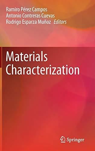 9783319152035: Materials Characterization