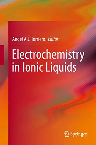 Electrochemistry of Ionic Liquids: Angel Torriero