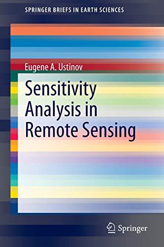 9783319158402: Sensitivity Analysis in Remote Sensing (SpringerBriefs in Earth Sciences)