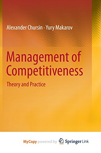 9783319162454: Management of Competitiveness: Theory and Practice