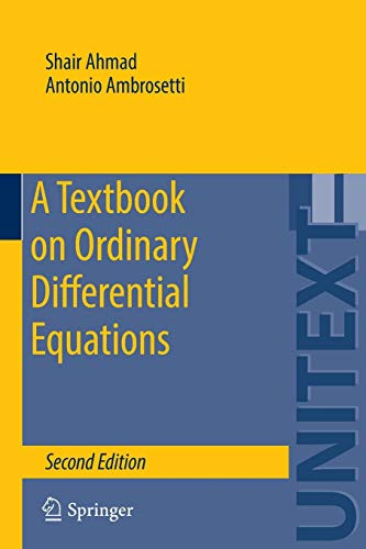 9783319164076: A Textbook on Ordinary Differential Equations (UNITEXT)