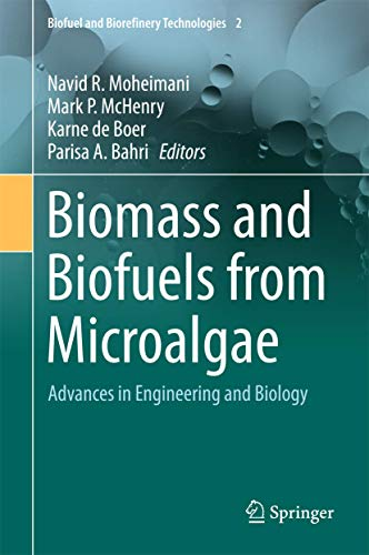 9783319166391: Biomass and Biofuels from Microalgae: Advances in Engineering and Biology