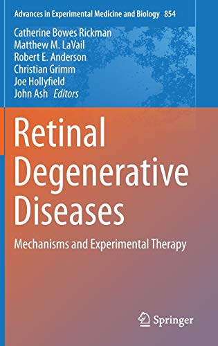 9783319171203: Retinal Degenerative Diseases: Mechanisms and Experimental Therapy (Advances in Experimental Medicine and Biology)