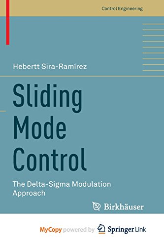 9783319172583: Sliding Mode Control: The Delta-Sigma Modulation Approach