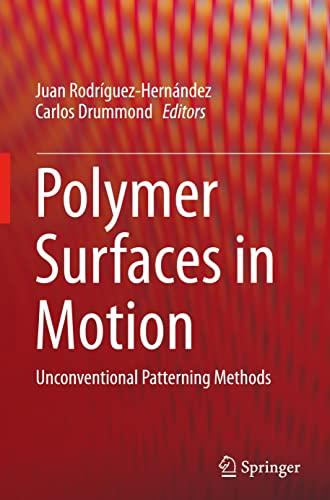 Polymer Surfaces in Motion 2015: Juan Rodriguez-Hernandez