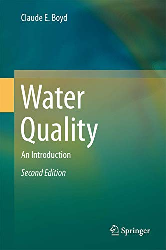 Introduction To Water Gardening: 9783319174457: Water Quality: An Introduction