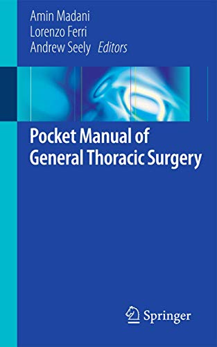 9783319174969: Pocket Manual of General Thoracic Surgery