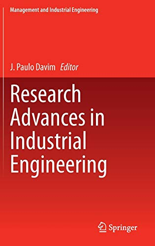 9783319178240: Research Advances in Industrial Engineering (Management and Industrial Engineering)
