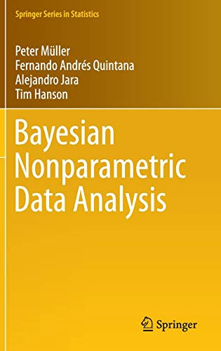 9783319189673: Bayesian Nonparametric Data Analysis