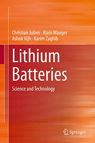 9783319191072: Lithium Batteries: Science and Technology