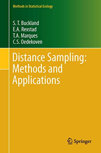 9783319192185: Distance Sampling: Methods and Applications (Methods in Statistical Ecology)
