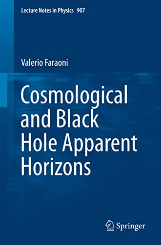 9783319192390: Cosmological and Black Hole Apparent Horizons (Lecture Notes in Physics)