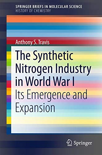 9783319193564: The Synthetic Nitrogen Industry in World War I: Its Emergence and Expansion (SpringerBriefs in Molecular Science)
