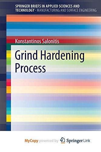 9783319193731: Grind Hardening Process