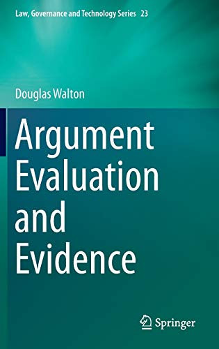 9783319196251: Argument Evaluation and Evidence