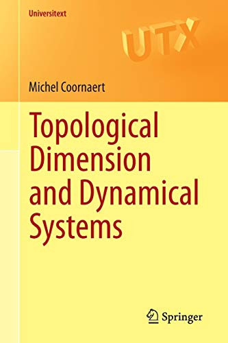 9783319197937: Topological Dimension and Dynamical Systems (Universitext)