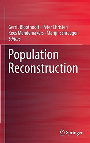 9783319198835: Population Reconstruction