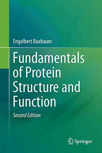 9783319199191: Fundamentals of Protein Structure and Function