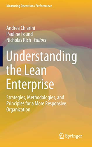 9783319199948: Understanding the Lean Enterprise: Strategies, Methodologies, and Principles for a More Responsive Organization (Measuring Operations Performance)