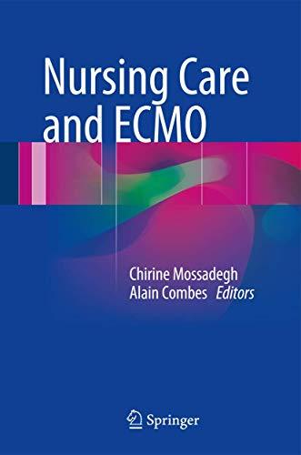 9783319201009: Nursing Care and ECMO