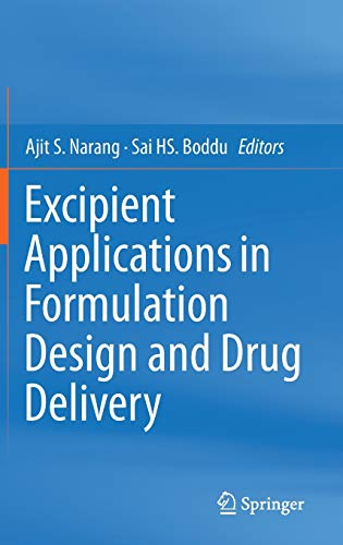 9783319202051: Excipient Applications in Formulation Design and Drug Delivery