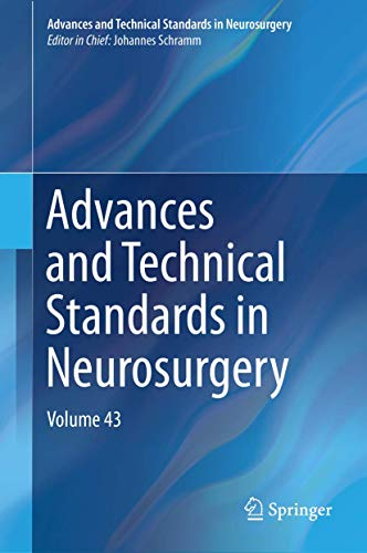 Advances and Technical Standards in Neurosurgery.: Schramm, Johannes: