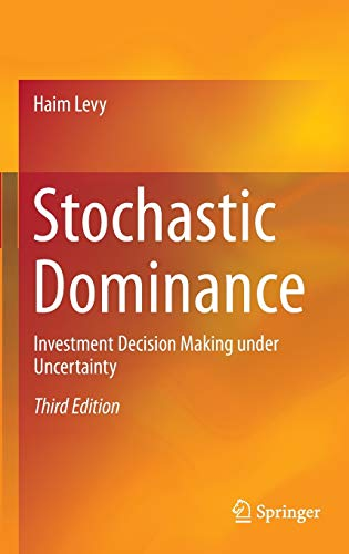 9783319217079: Stochastic Dominance: Investment Decision Making under Uncertainty