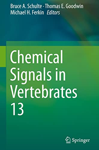 9783319220253: Chemical Signals in Vertebrates