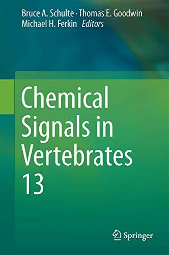 9783319220253: Chemical Signals in Vertebrates 13