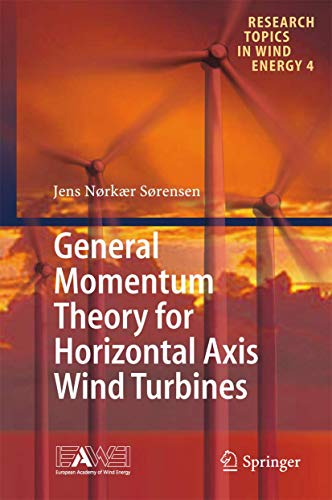 9783319221137: General Momentum Theory for Horizontal Axis Wind Turbines (Research Topics in Wind Energy)