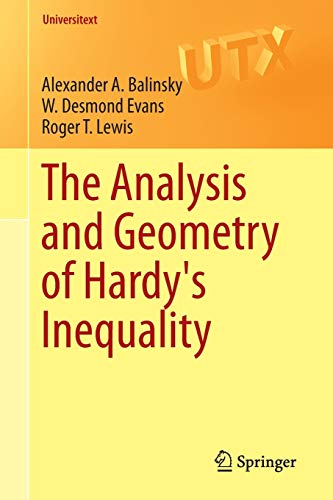 9783319228693: The Analysis and Geometry of Hardy's Inequality