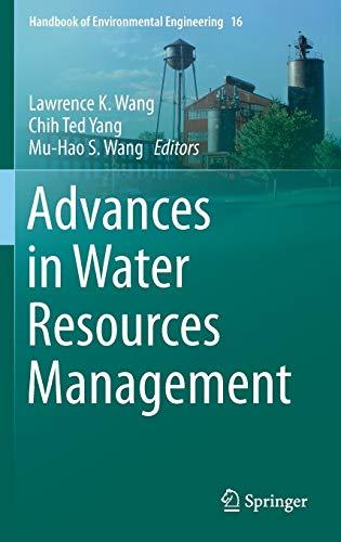 9783319229232: Advances in Water Resources Management (Handbook of Environmental Engineering)