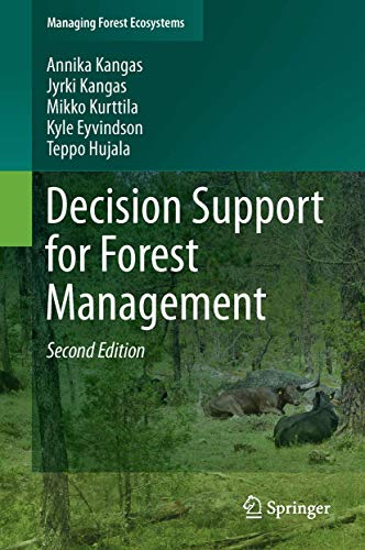 9783319235219: Decision Support for Forest Management (Managing Forest Ecosystems)