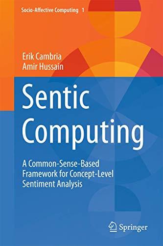 Sentic Computing: A Common-Sense-Based Framework for Concept-Level: Hussain, Amir, Cambria,