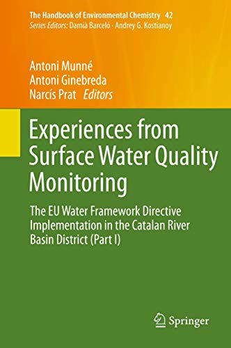 Experiences from Surface Water Quality Monitoring: Antoni Munné