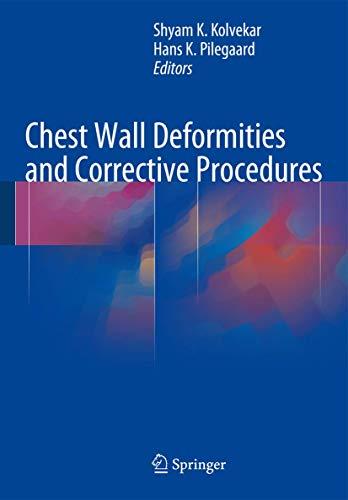 9783319239668: Chest Wall Deformities and Corrective Procedures