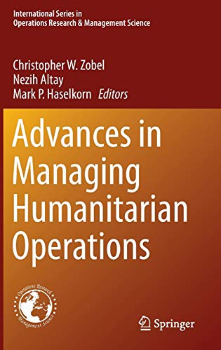 9783319244167: Advances in Managing Humanitarian Operations (International Series in Operations Research & Management Science)